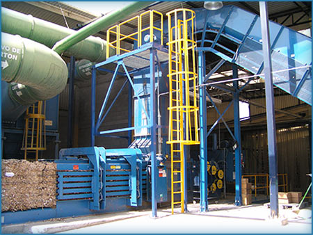 Corrugator Trim Systems | Pneumatic Conveying | Air Systems Design